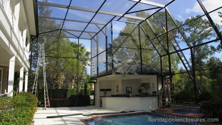 Families often times go back and forth on whether to install a pool  enclosure as their safety barrier option when building a backyard pool