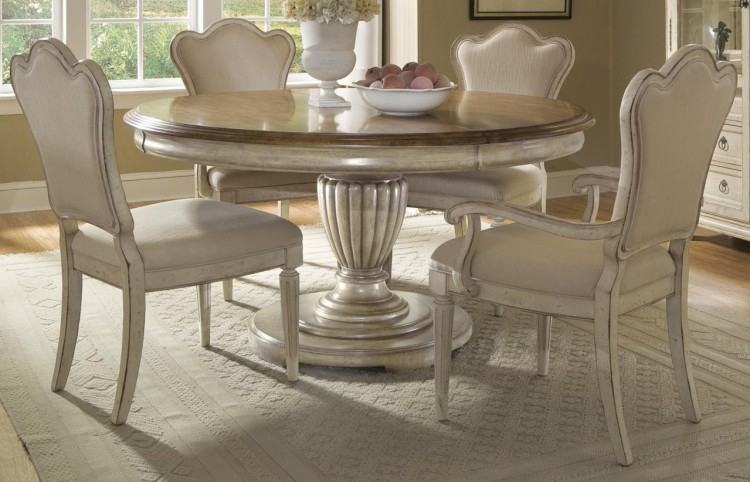 Bold Round Dining Table