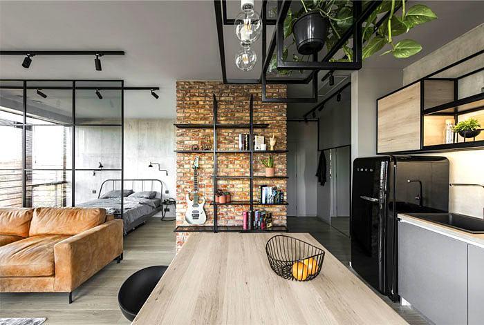 Extravagante Wohnung von House Design Studio
