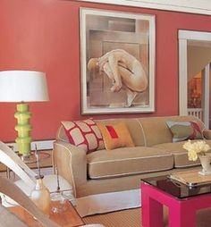 Black And White Single Bedroom Ideas Red Decorating Cozy Salmon Colored