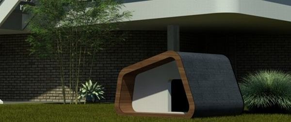 Dreaming of a cool dog house for your best friend? Have you been lamenting  that your small dog's bed is an eye sore and definitely not modern enough  for