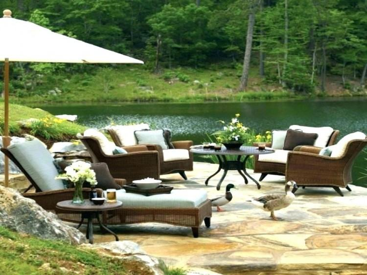 Monterey Gray Outdoor Living Room Set
