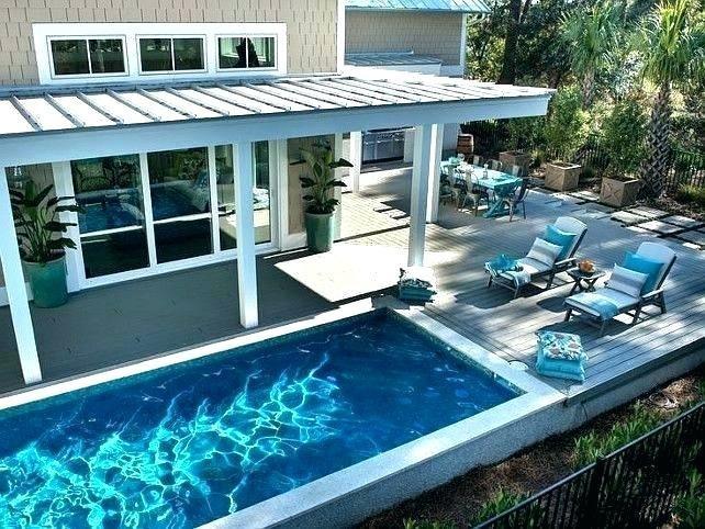 Small Inground Pool Designs Lot
