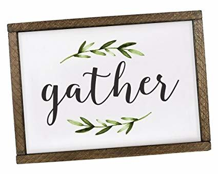 dining room signs come gather at our table wood vinyl sign farmhouse  cottage wall funny dining