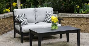Simple furniture pieces can be moved to open outdoor living spaces like  balconies,