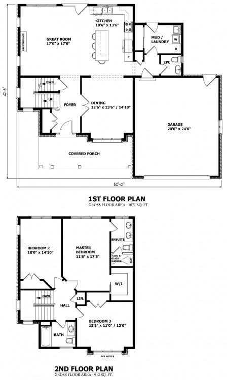 2 storey house plans 1 1 2 storey house plans canada