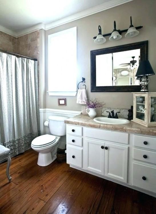modern farmhouse bathroom decor image of small wall
