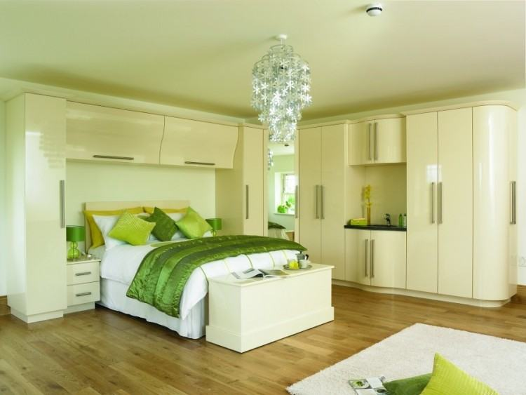Ultra Gloss Cashmere Fitted Bedrooms Wigan