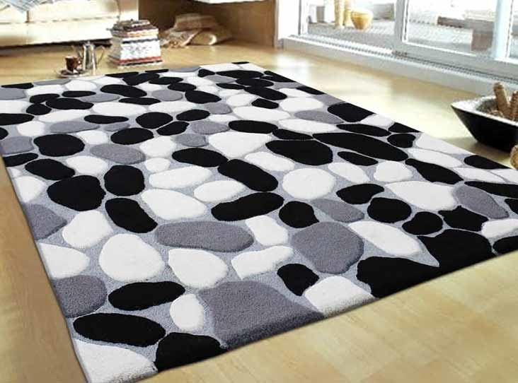 The chosen rug material can bring  the incredible texture to your modern design