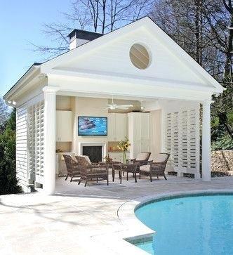 inside pool house ideas