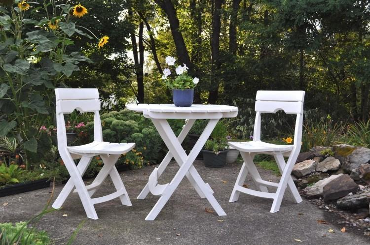 White Resin Patio Furniture Adams Manufacturing Large Size Of Mfg Corp