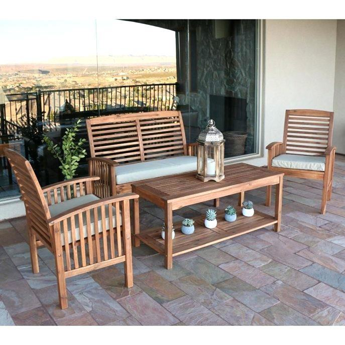 Mainstays Belden Park 4 Piece sofa Set Luxury Best Choice Products 4  Piece Wicker Patio Furniture