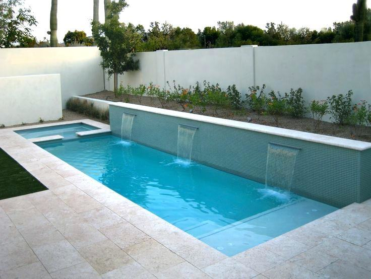 Best Lap Pool Designs Images In Backyard Pools Throughout Ideas