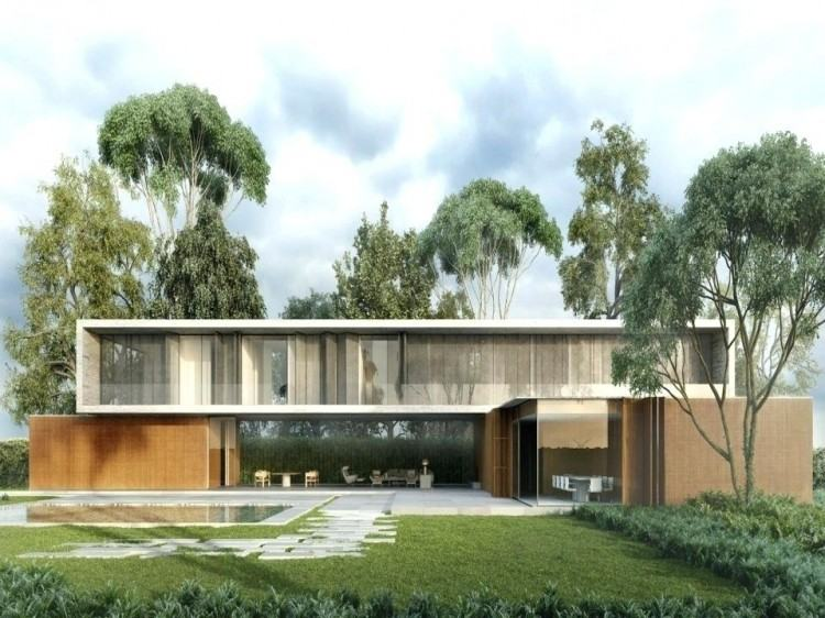contemporary ranch style home exterior modern interiors homes mid century house  design