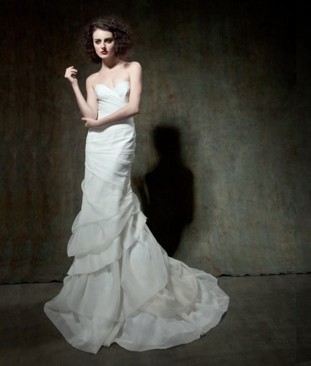 We have our plus size wedding dress separates in our Los Angeles area bridal  store and our Phoenix area bridal store