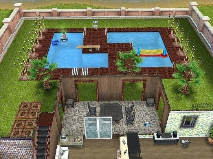 Custom Pool, Pool Design Lightfoot Landscapes, Inc