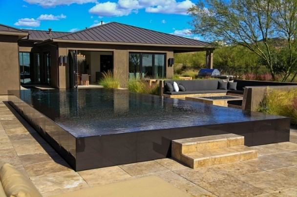 Wet Edge Vs Pebble Tec Wet Edge Infinity And Wet Edge Swimming Pools And  Spas Residential Pool Residential Infinity Pools Wet Wet Edge Wet Edge  Technologies