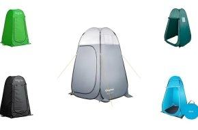 TOMSHOO Camping Tent Outdoor Shower Tent From RU/US Toilet Bath Changing  Fitting Room Beach Privacy Shelter Travel Best Camping Tent Family Tent  Reviews