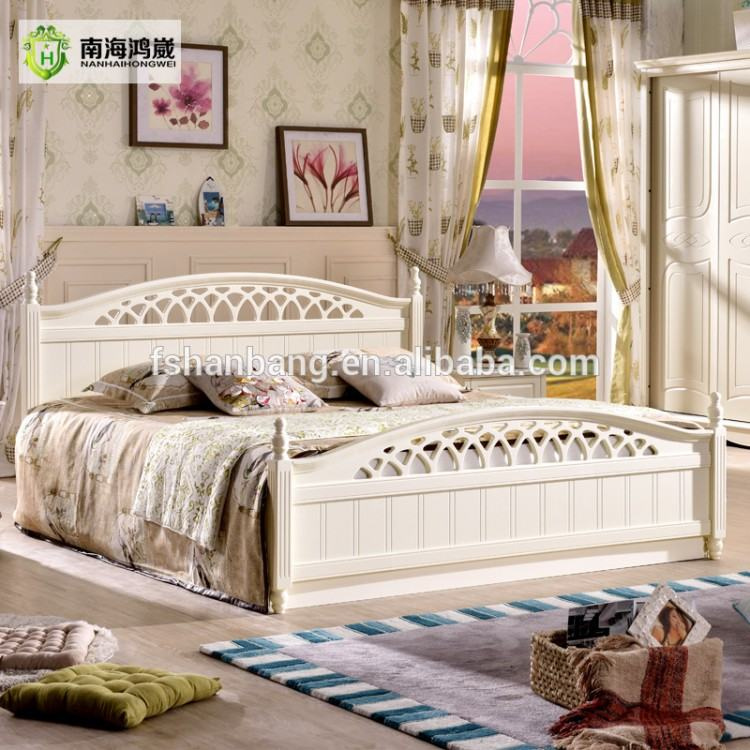 Juliette Shabby Chic White Double bed 5pc bedroom suite, 4ft6 bed, chest of  drawers, wardrobe, bedside table, FULLY ASSEMBLED: Amazon