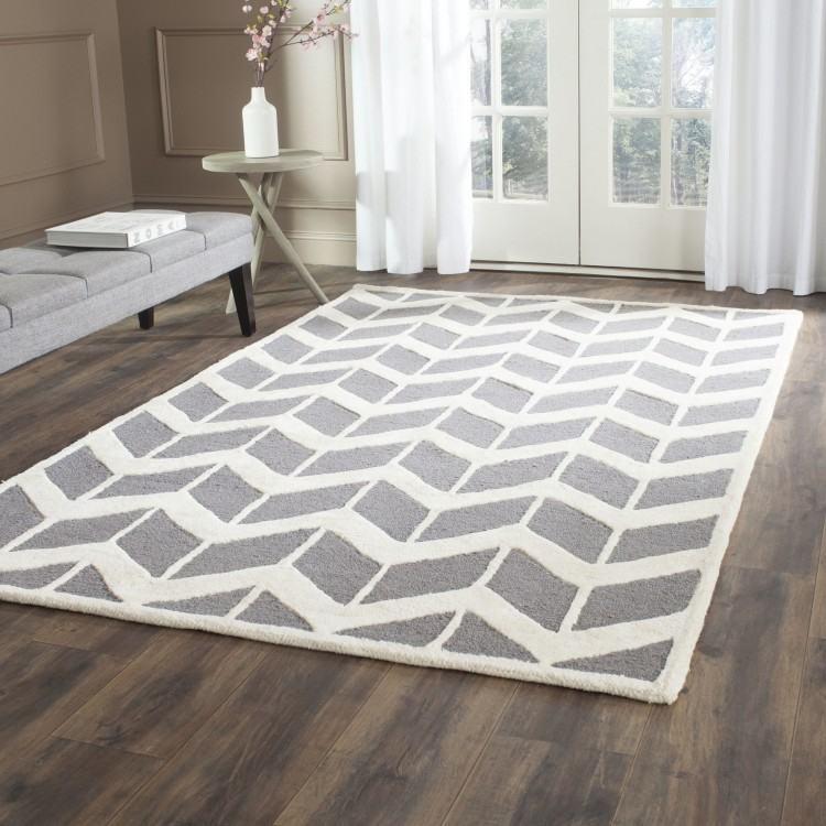gray bedroom  rug
