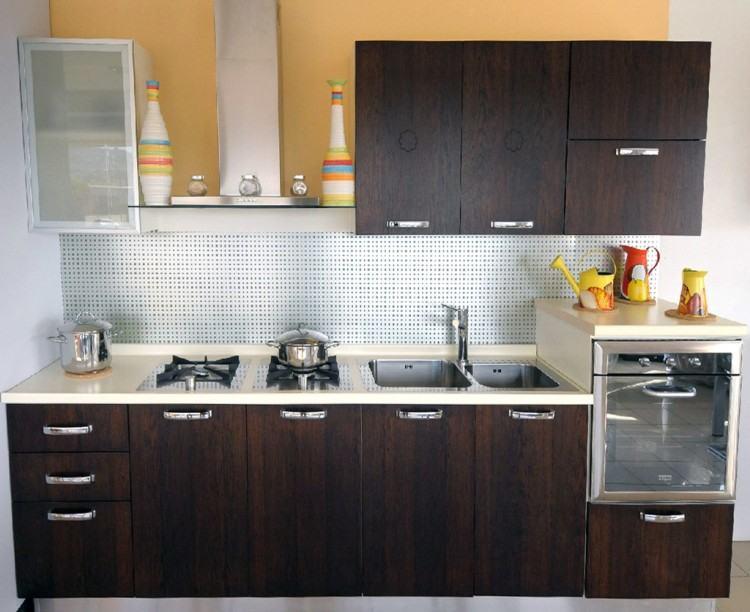 Backsplash Goes Black Cabinets Home Design And Decor Reviews · Kitchen Tile  Backsplash Ideas