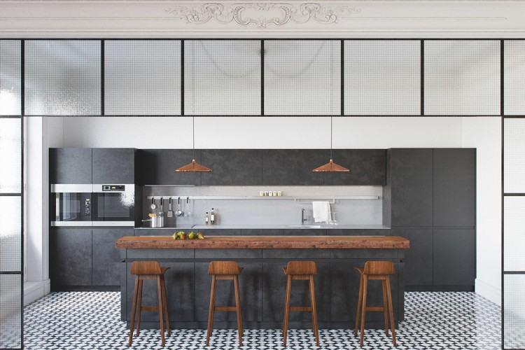 Full Size of Kitchen Black & White Kitchen Designs Modern White And Grey  Kitchen Designs Grey