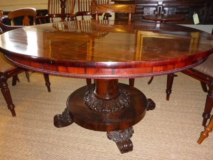Danish Brazilian Rosewood Dining Table by HP Hansen 1