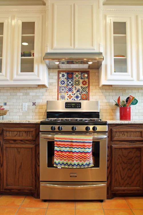 I styled this kitchen as a cover story for Better Homes & Gardens Remodel last year and