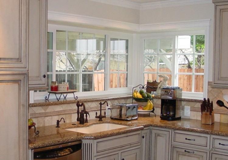 kitchen cabinet windows