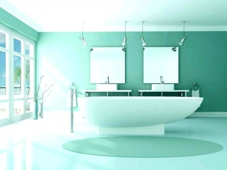 Amazing Mint Green Paint Colors Vintage Bathroom Decor At