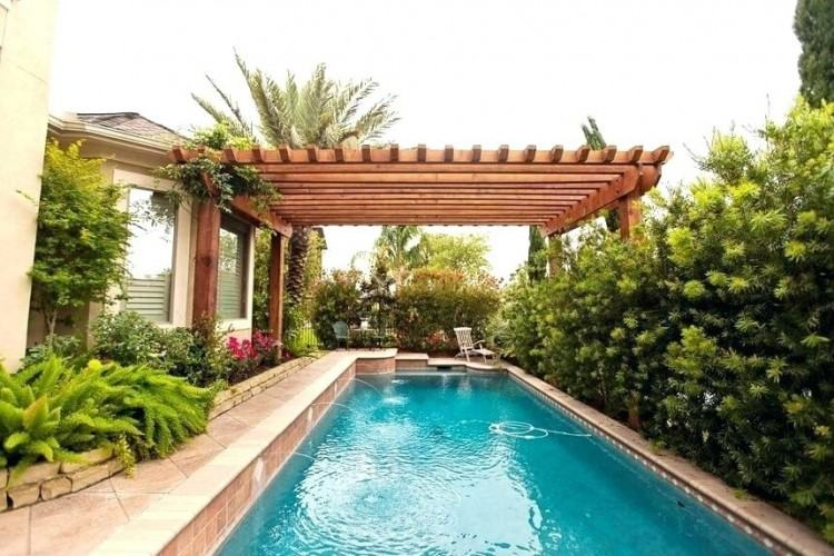 swimming pool pergola designs comfortable and cozy ideas the trailing of  flowers green over beautif