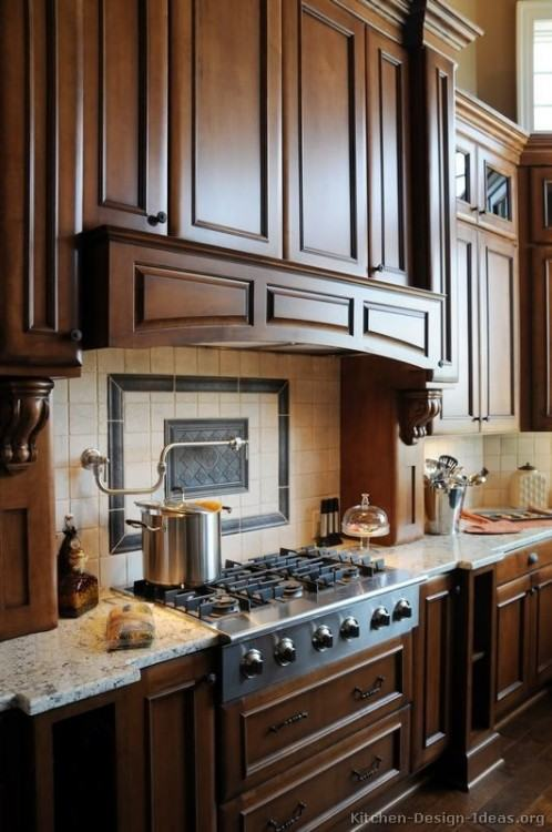 Small Kitchen Design Cherry Wood Cabinets Ideas Wooden Pictures Options  Tips Island Table Rolling Cart Butcher Block Portable Prep Storage Carts  Assembled