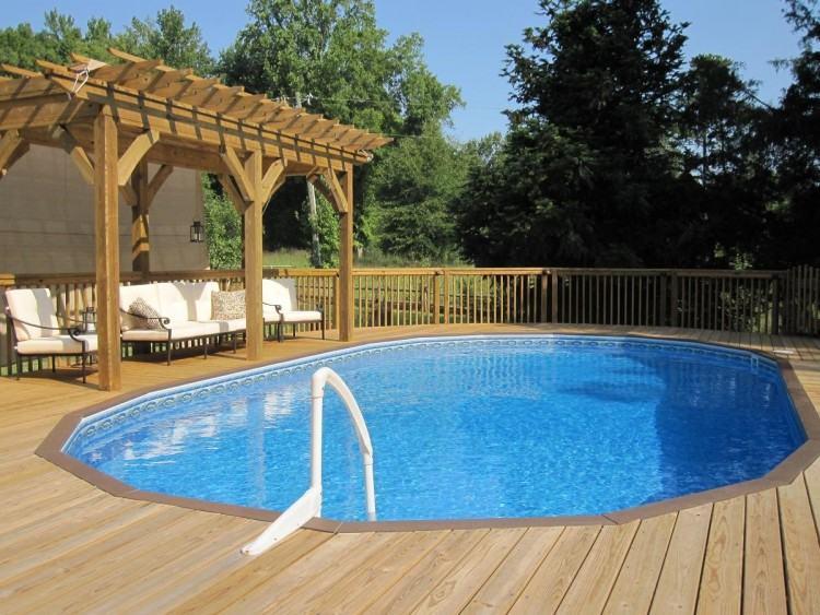 draining an inground pool