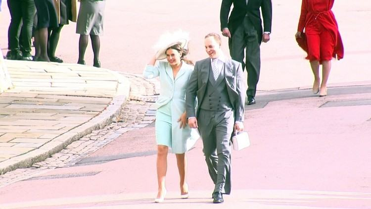 Pippa and James Matthews with James Middleton