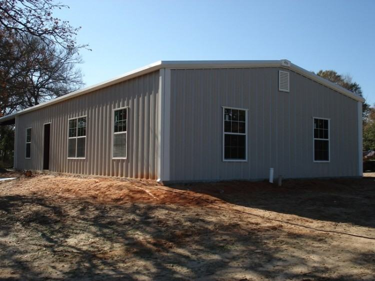 With over 30 years in the metal building construction industry building  Jacksonville metal homes, we can design and build a home faster and cheaper  than
