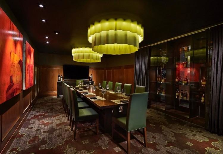 Green Private Dining Room