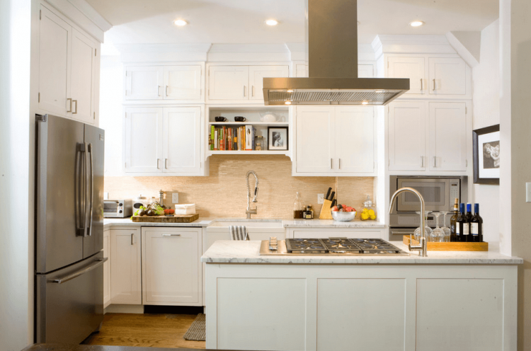 Is It Possible To Have Upper Cabinets Above An Island Or Peninsula Without  This Too Low
