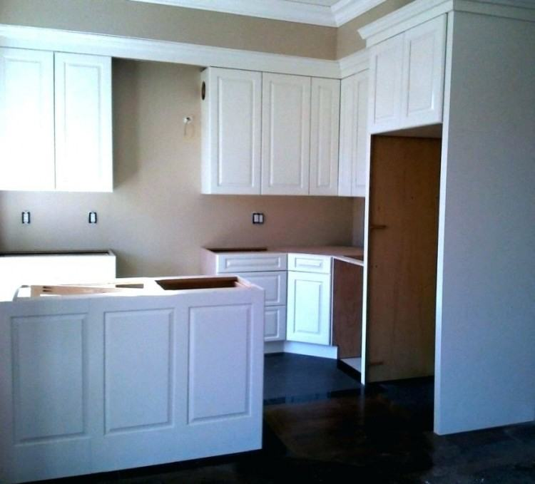 cabinet soffit kitchen