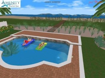 Home Elements And Style Medium size Swimming Pool Designs Florida  Isaantours Com Enormous Form Home Pools