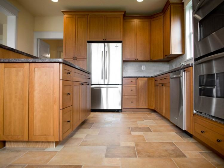 Pleasant Floor Tile Design Kitchen Picture Is Like Gloss White Kitchen  Floor Tiles