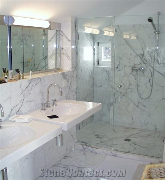 Marble Bathroom  Best Bathrooms Ideas On Tile Carrara Images