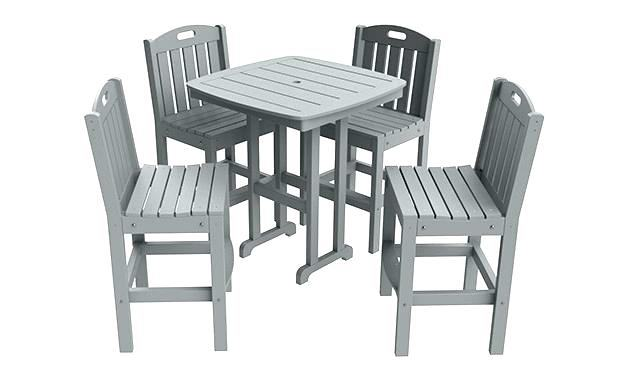 Enjoy the Outdoors with This Patio  Furniture Dining Set