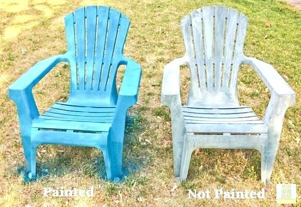 Go a little wild with color & bring out your plastic chairs' prettiness  potential