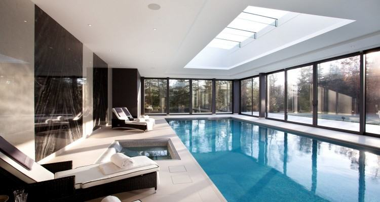 These modern outdoor pool houses are unique in design and great inspiration  for summer