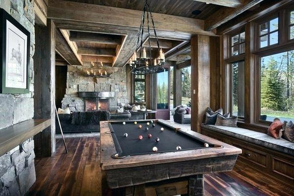 pc[Detail] Pool Table with cues