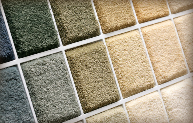 There are many different types of carpet textures