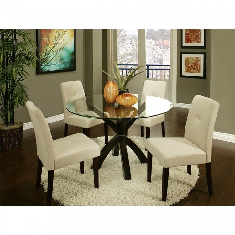 Furniture: Cozy Parson Chairs For Your Dining Room Decoration — cafe1905
