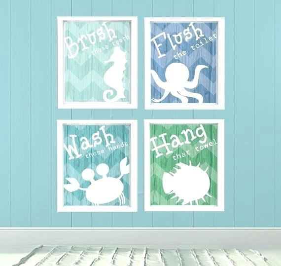 Ocean Bathroom Decor How To Arrange Creative Diy Accessories Plus Sets  Under The Sea Themed