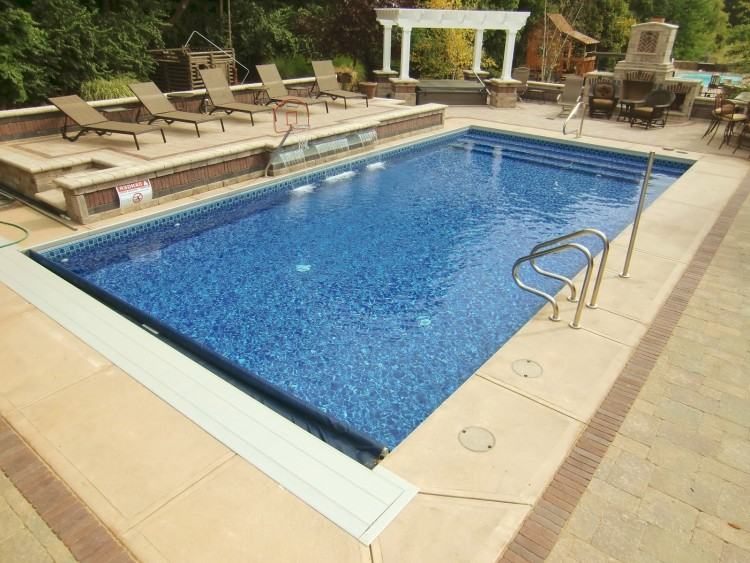 Swimming Pool Designs Thumbnail size Inground Gunite Swimming Pool  Designs Vinyl Liner Pools Forest Acres Lexington