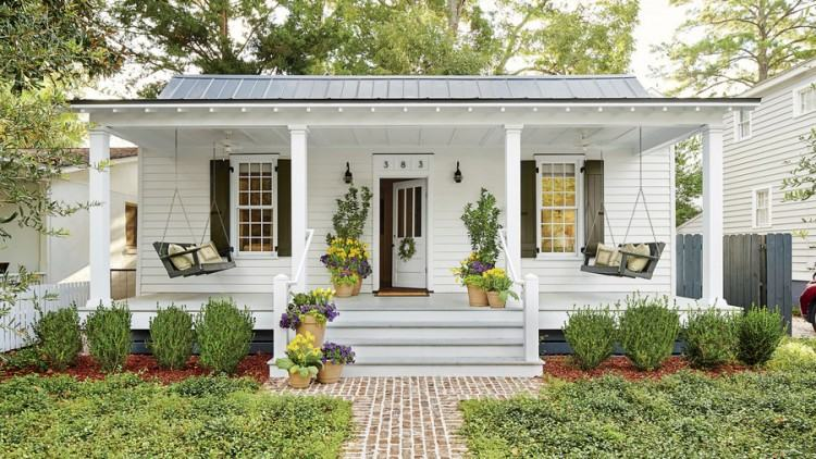 Porches Patio Covers More Browns Metal Roofing Covered Porch Backyard